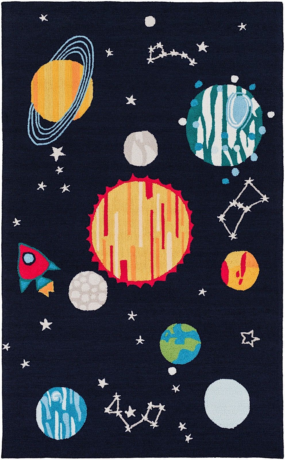 surya peek-a-boo novelty area rug collection