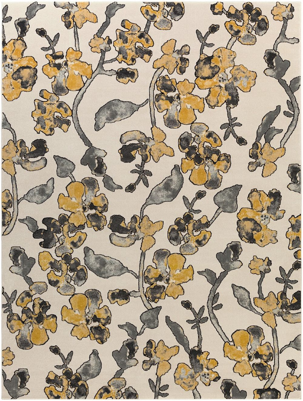 surya priyanka country & floral area rug collection