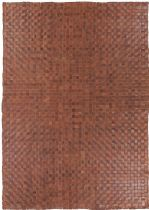 RugPal Solid/Striped Pebble Area Rug Collection