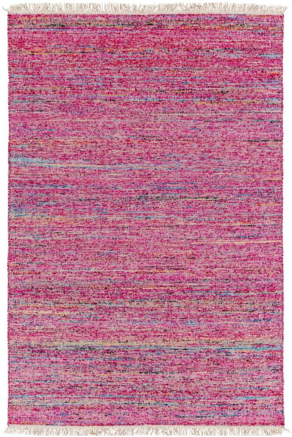 surya rex solid/striped area rug collection