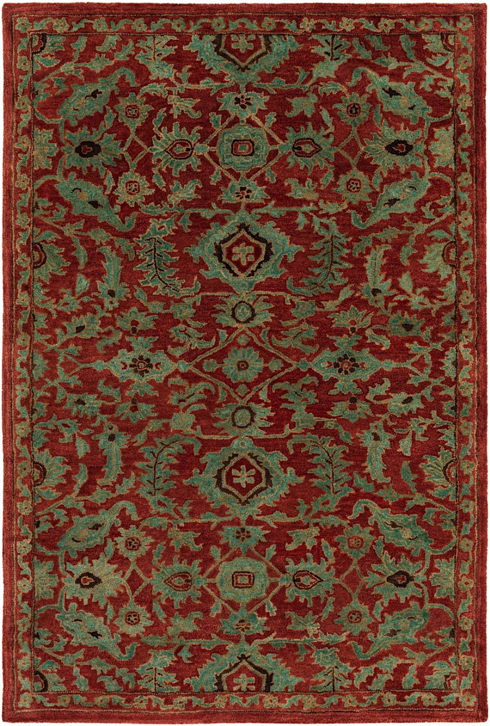 rugpal anvi traditional area rug collection