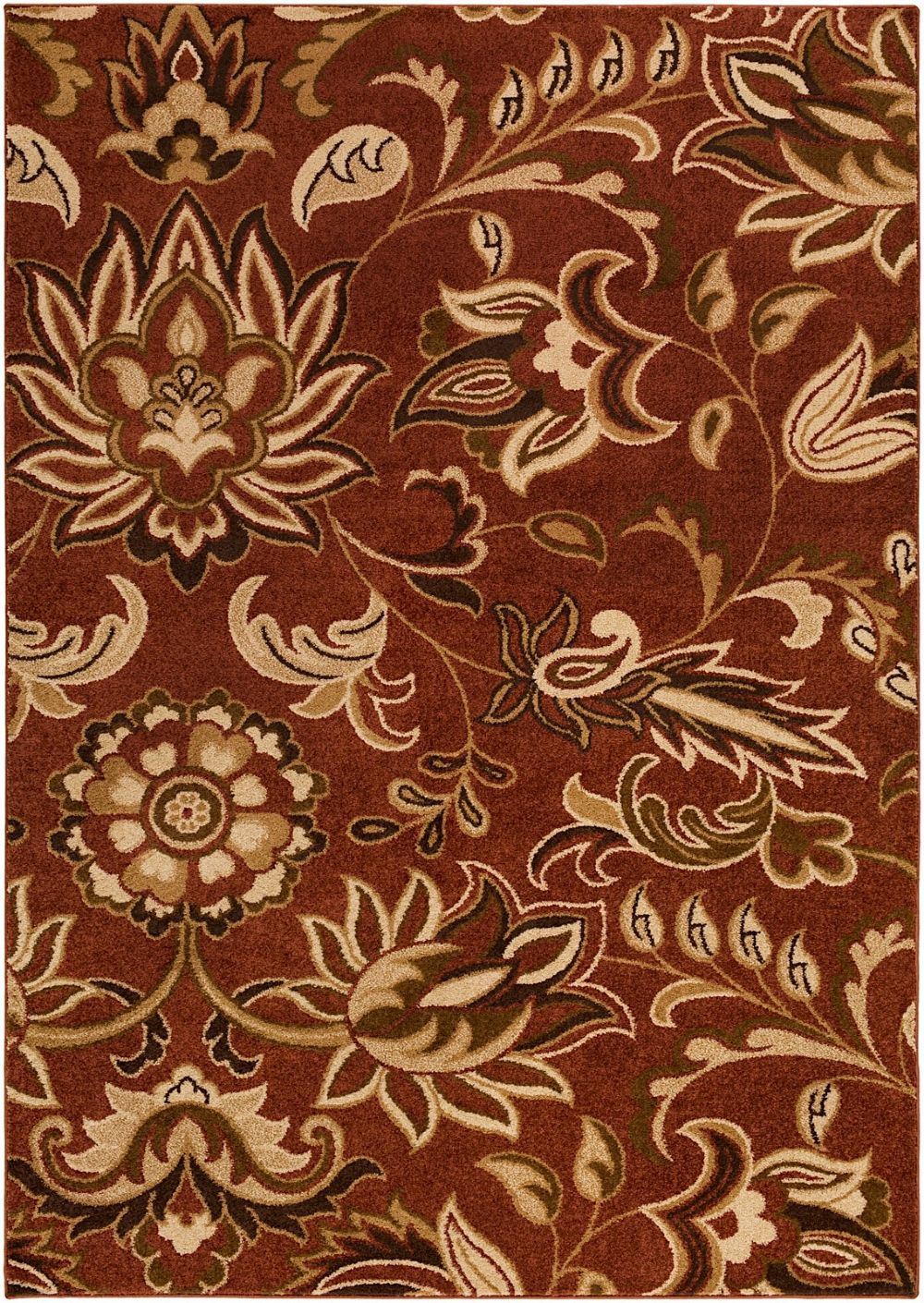 surya river home country & floral area rug collection
