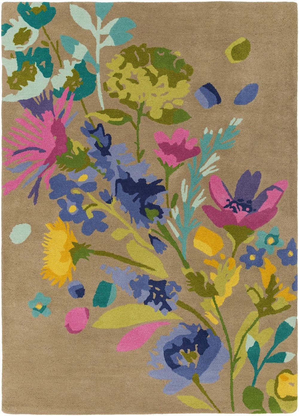 surya scion country & floral area rug collection