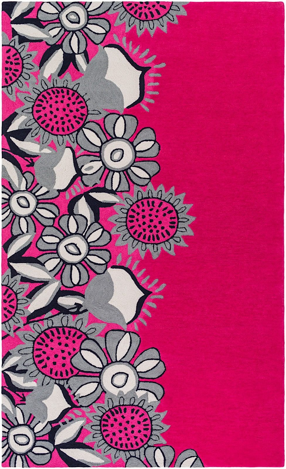 surya skidaddle country & floral area rug collection