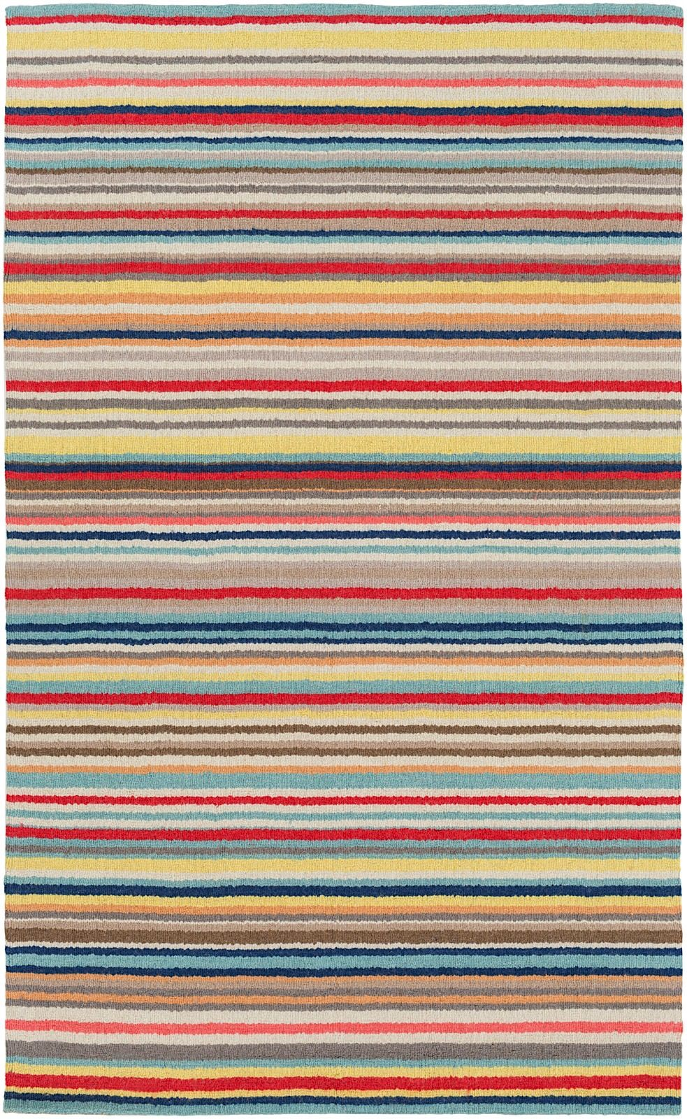 surya shiloh solid/striped area rug collection