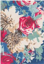 Surya Country & Floral Technicolor Area Rug Collection