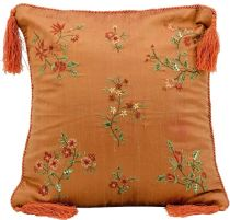 Nourison Country & Floral Silk Embroidery Pillow pillow Collection