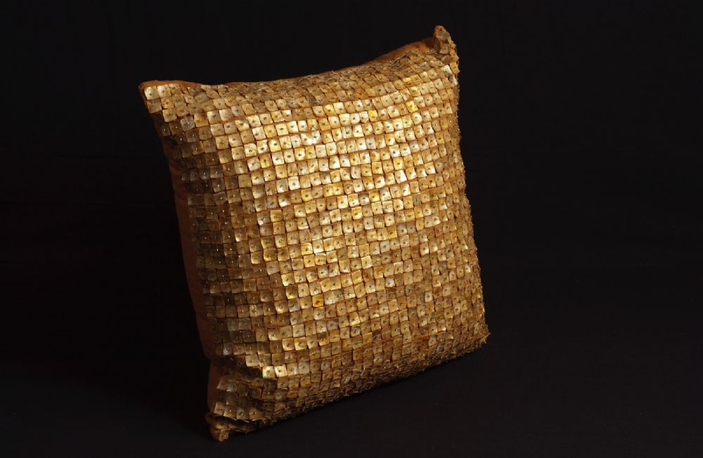 nourison button pillow contemporary decorative pillow collection