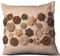 Nourison Country & Floral Felt Pillow pillow Collection