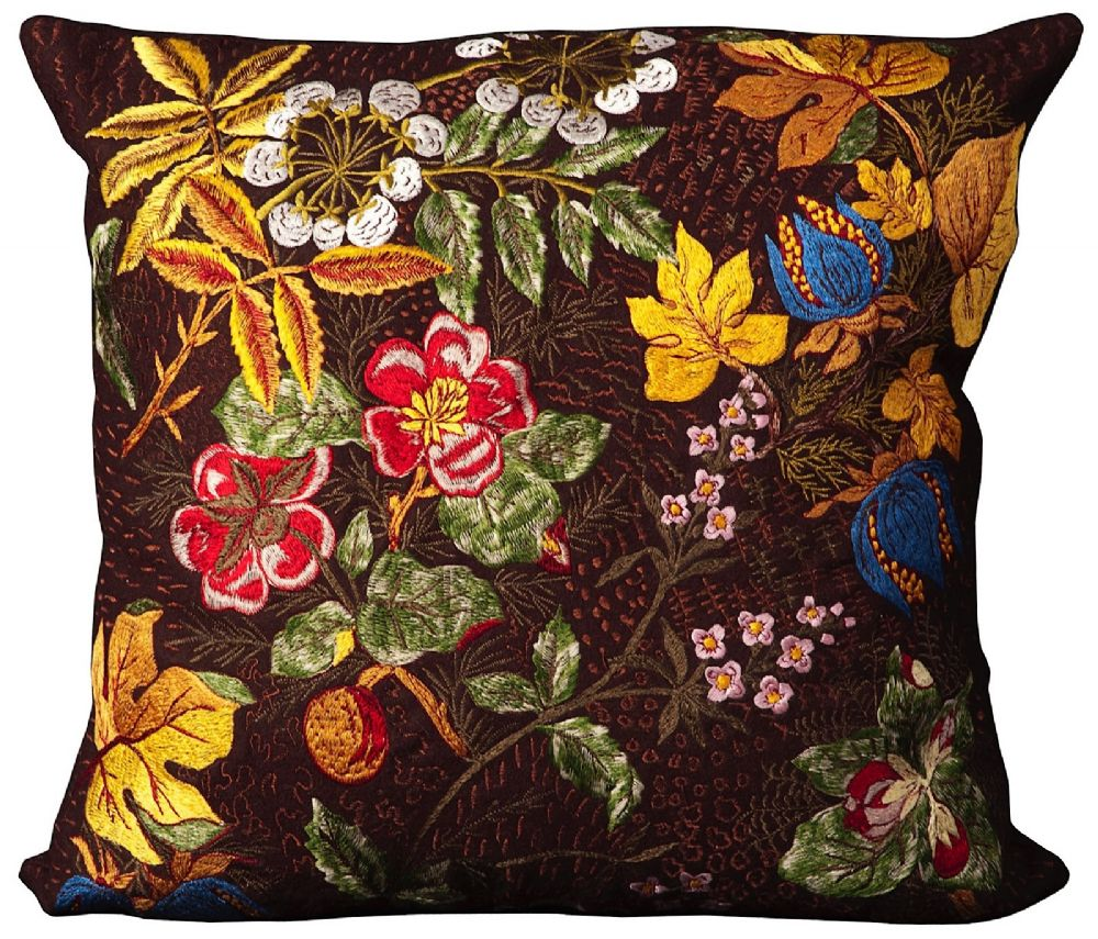 nourison felt pillow country & floral decorative pillow collection