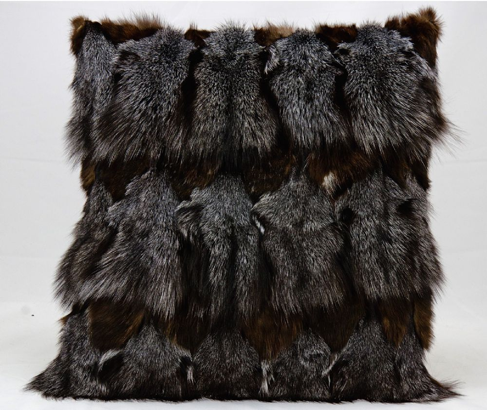 nourison fur pillow plush decorative pillow collection