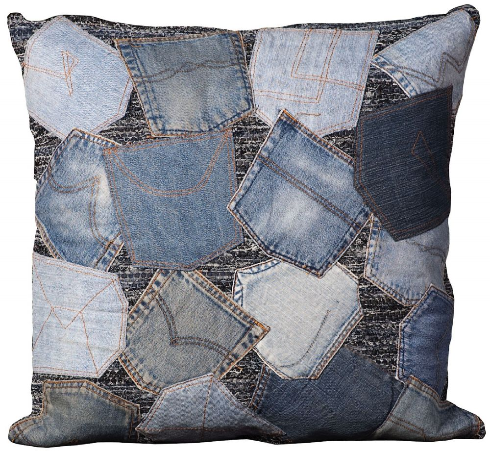 nourison denim pillow contemporary decorative pillow collection