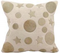 Nourison Contemporary Natural Leather Hide Pillow pillow Collection