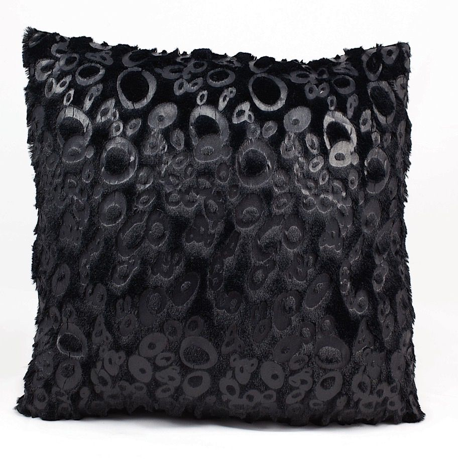 nourison fur pillow contemporary decorative pillow collection