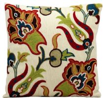 Nourison Country & Floral Wool Pillow pillow Collection