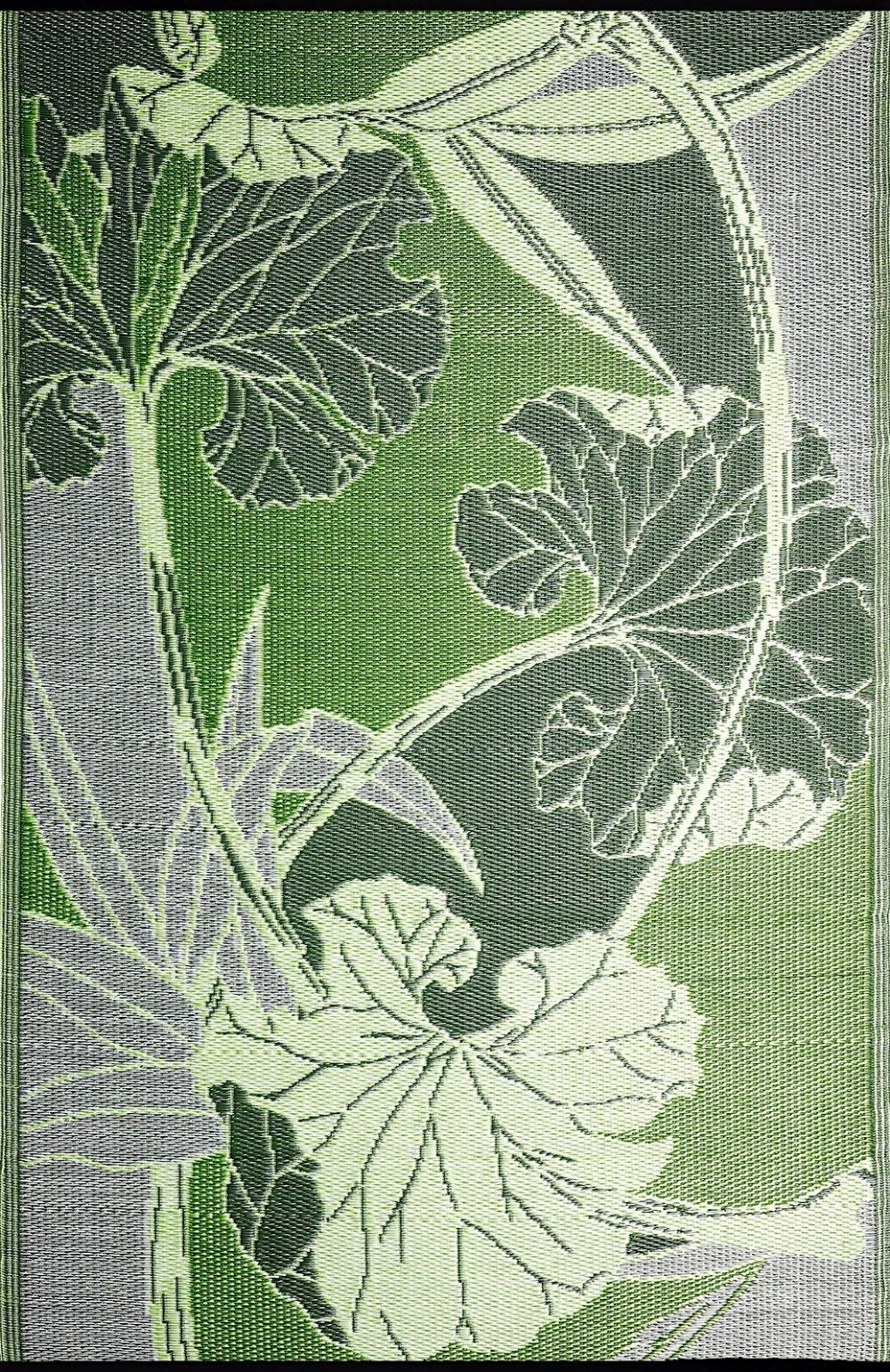 b.b.begonia blossom reversible indoor/outdoor area rug collection