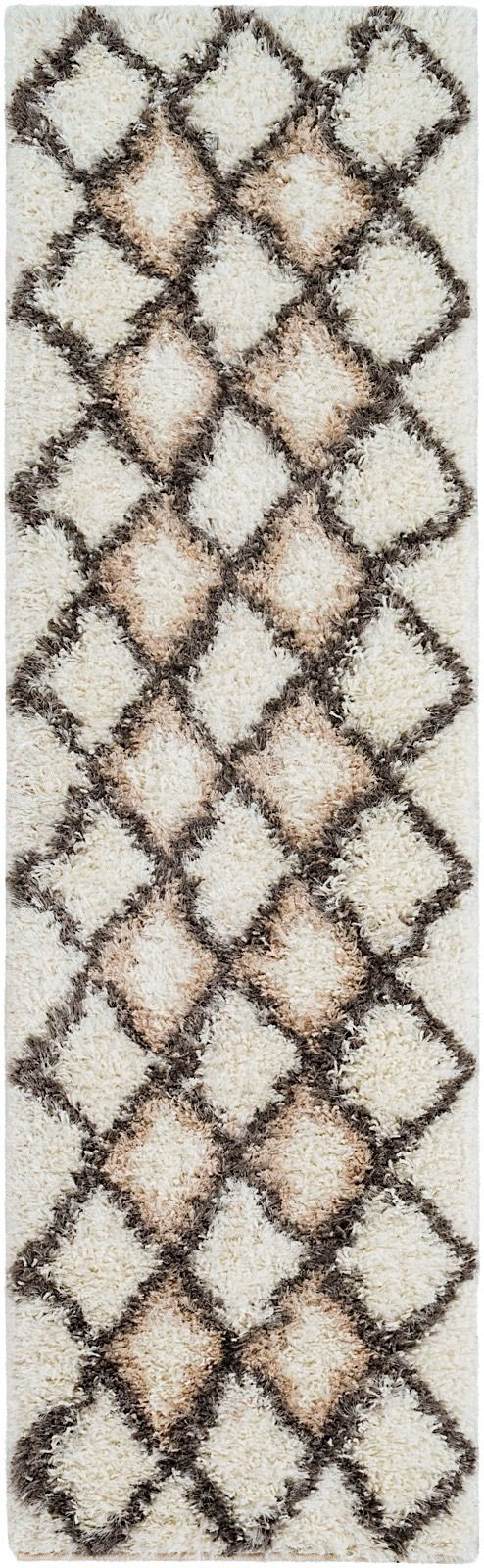 surya mercer shag area rug collection