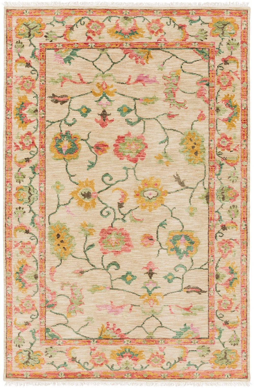 surya transcendent traditional area rug collection