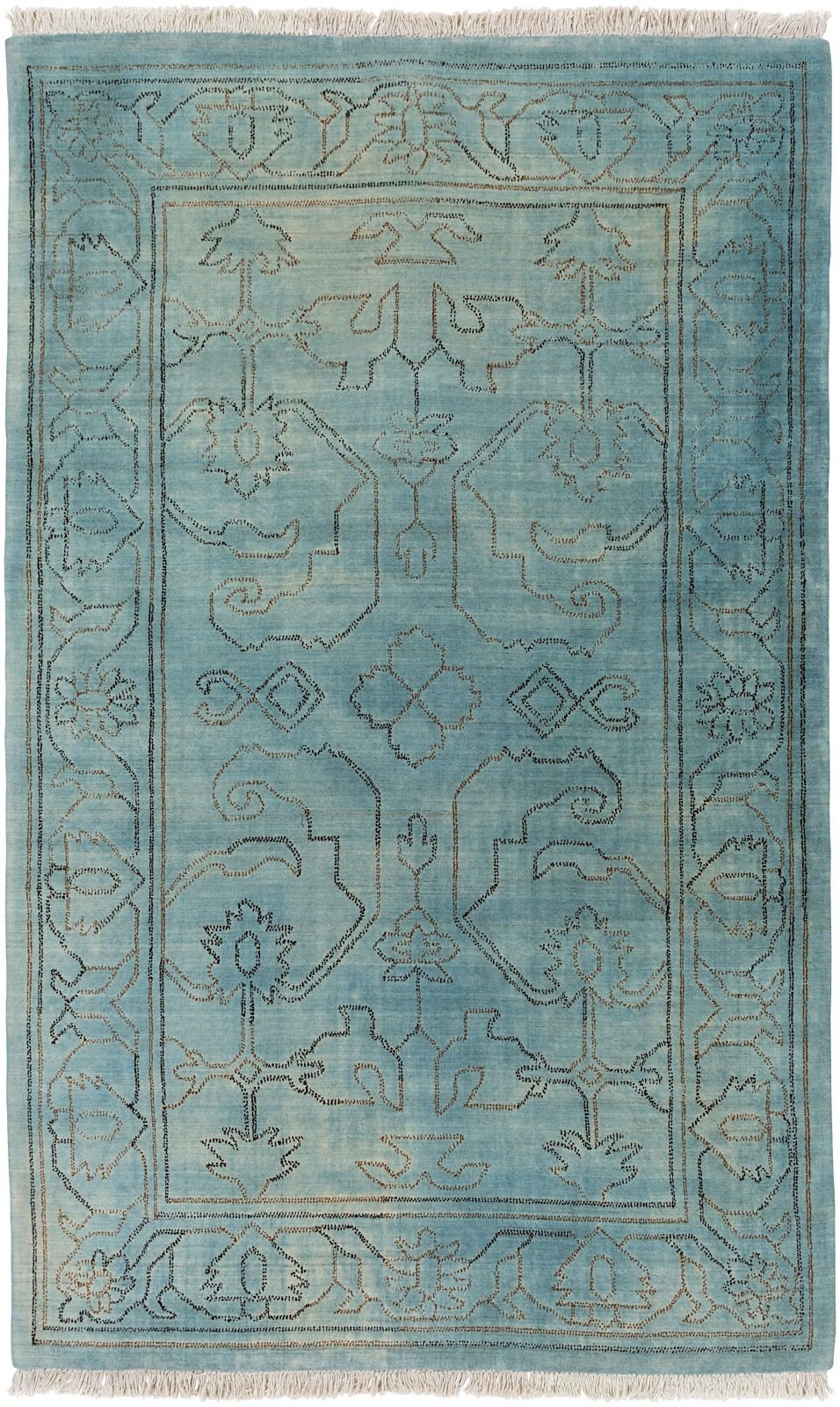 surya wilmington traditional area rug collection