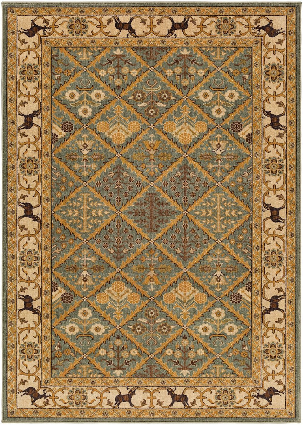 surya willow lodge traditional area rug collection