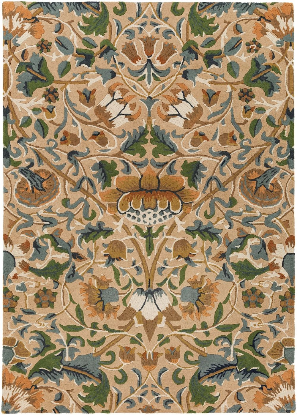 Surya William Morris Country Floral Area Rug Collection