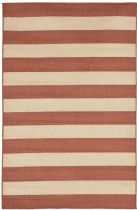 Trans Ocean Solid/Striped Tulum Area Rug Collection