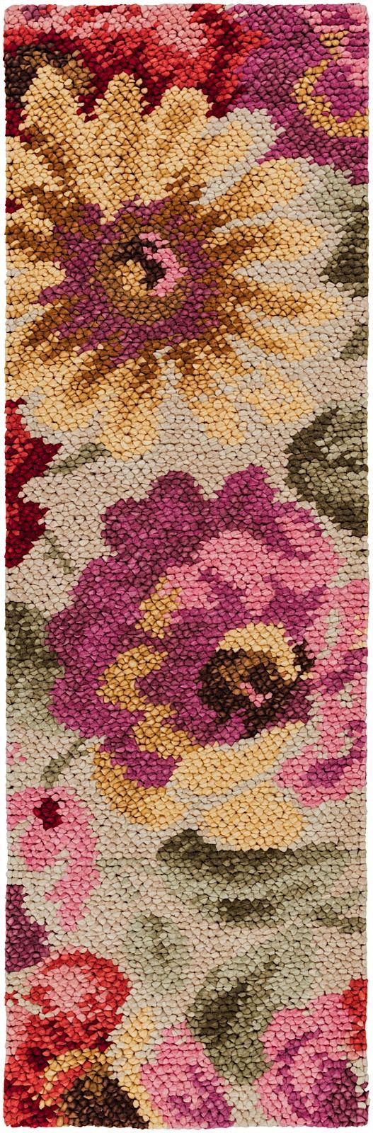 surya spring bloom country & floral area rug collection