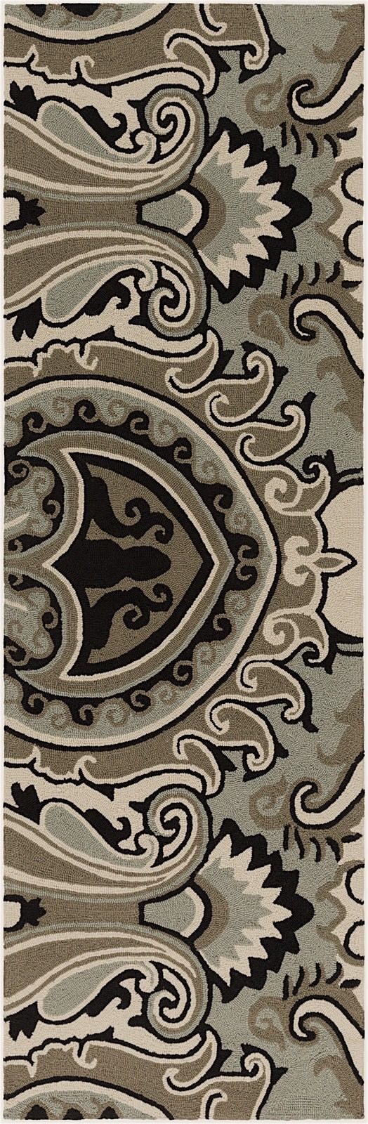surya skye contemporary area rug collection