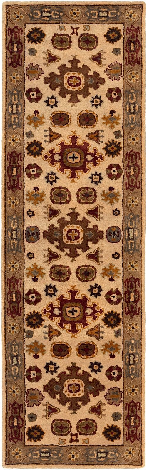 surya tinley traditional area rug collection