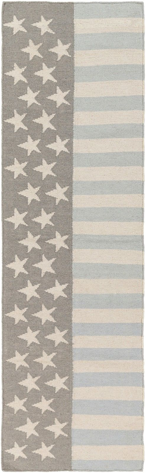 surya washington solid/striped area rug collection
