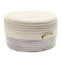 Colonial Mills Braided Color Block Pouf pouf/ottoman Collection