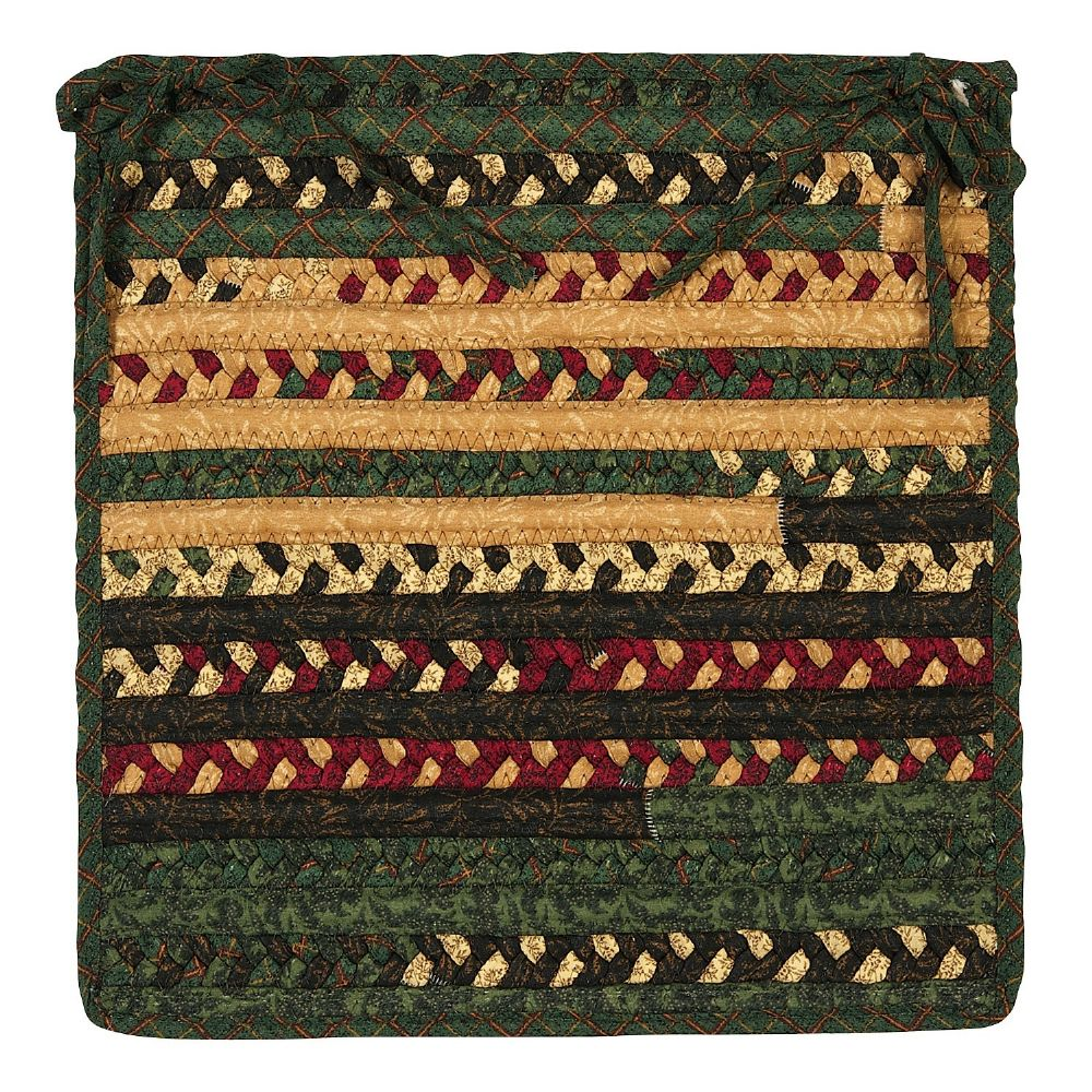 colonial mills market mix braided chair pad collection