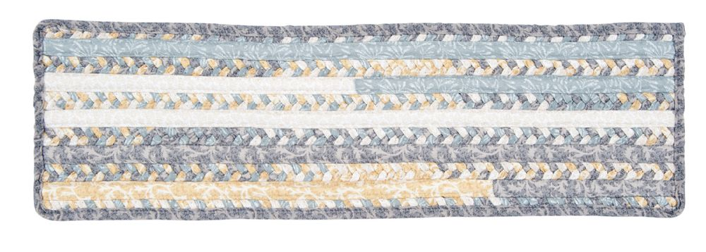 colonial mills print party braided stair tread collection