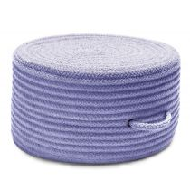 Colonial Mills Braided Solid Chenille Pouf pouf/ottoman Collection