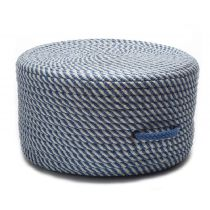 Colonial Mills Braided Bright Twist Pouf pouf/ottoman Collection