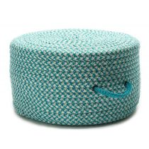 Colonial Mills Braided Houndstooth Pouf pouf/ottoman Collection