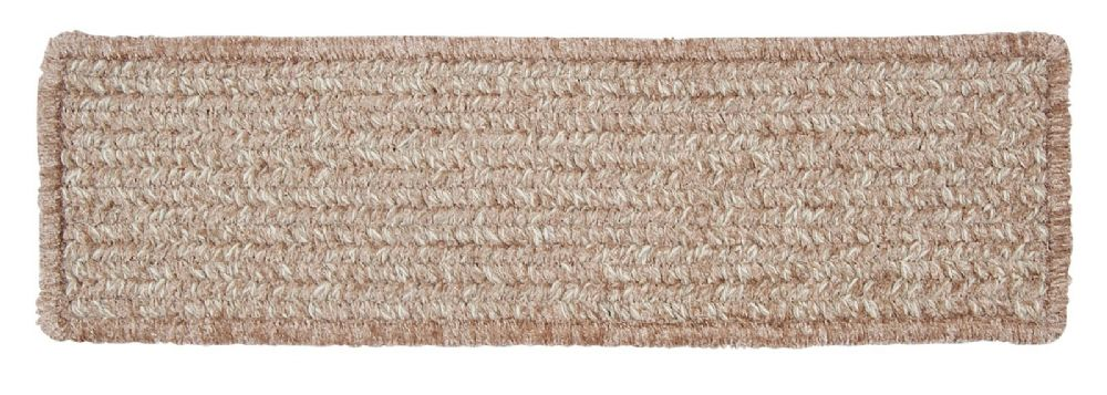 colonial mills texture-woven braided stair tread collection