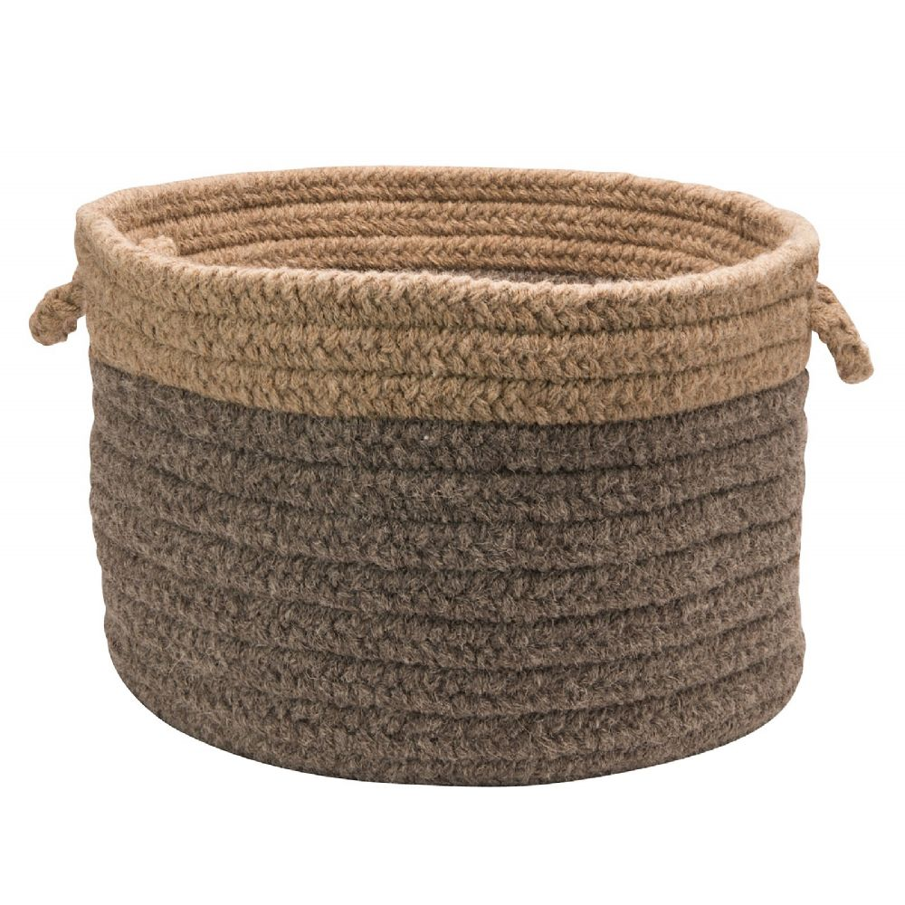 colonial mills chunky natural wool dipped basket basket basket collection