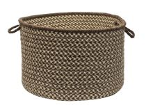 Colonial Mills Basket Natural Wool Houndstooth basket Collection