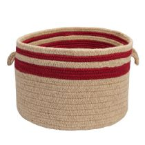 Colonial Mills Basket Cabin Stripe Storage basket Collection