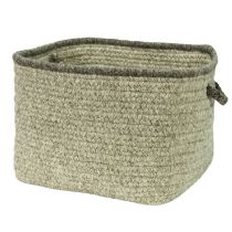 Colonial Mills Basket Natural Style Square Basket basket Collection