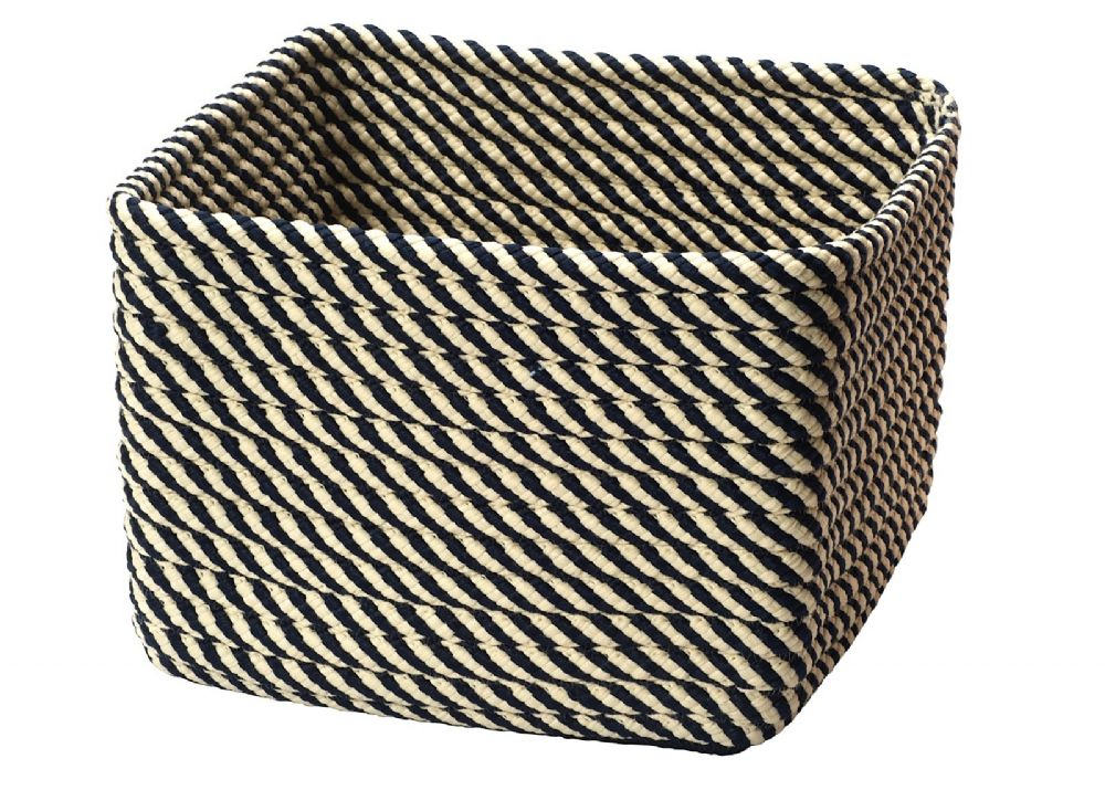colonial mills twisted square storage indoor/outdoor basket collection