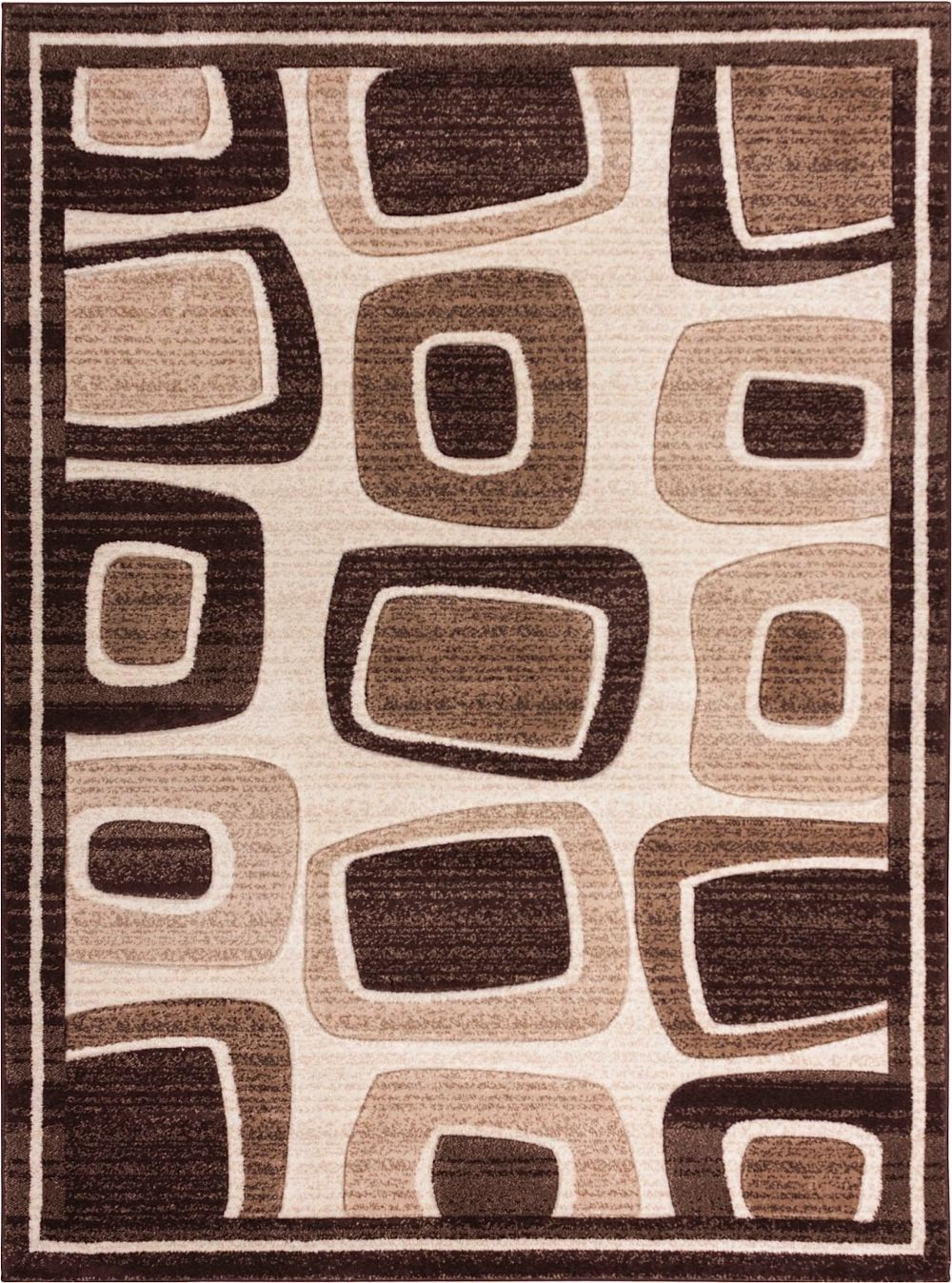 well woven ruby radical squares contemporary area rug collection