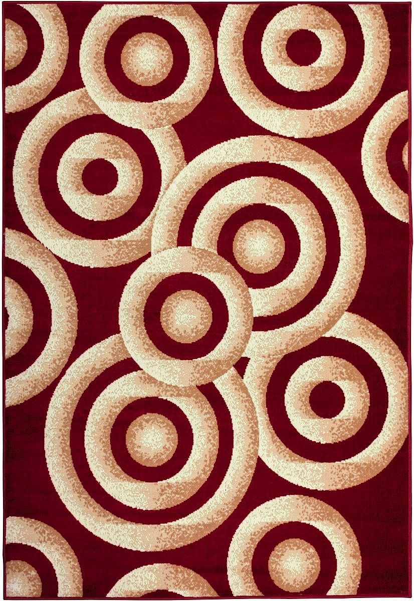 well woven miami sunshine circles contemporary area rug collection