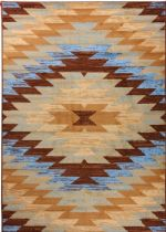 Well Woven Southwestern/Lodge Miami Area Rug Collection