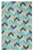 Dynamic Rugs Contemporary Patio Area Rug Collection