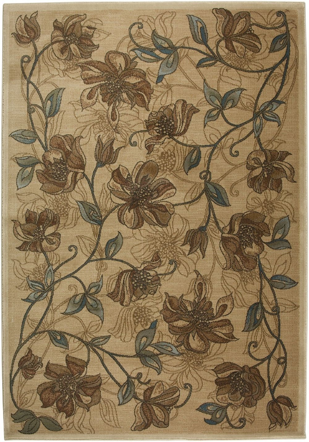 rizzy rugs bellevue country & floral area rug collection