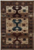 Rectangle Area Rug, Power Loomed Rug, Southwestern/Lodge, Bellevue, Rizzy Rugs Rug