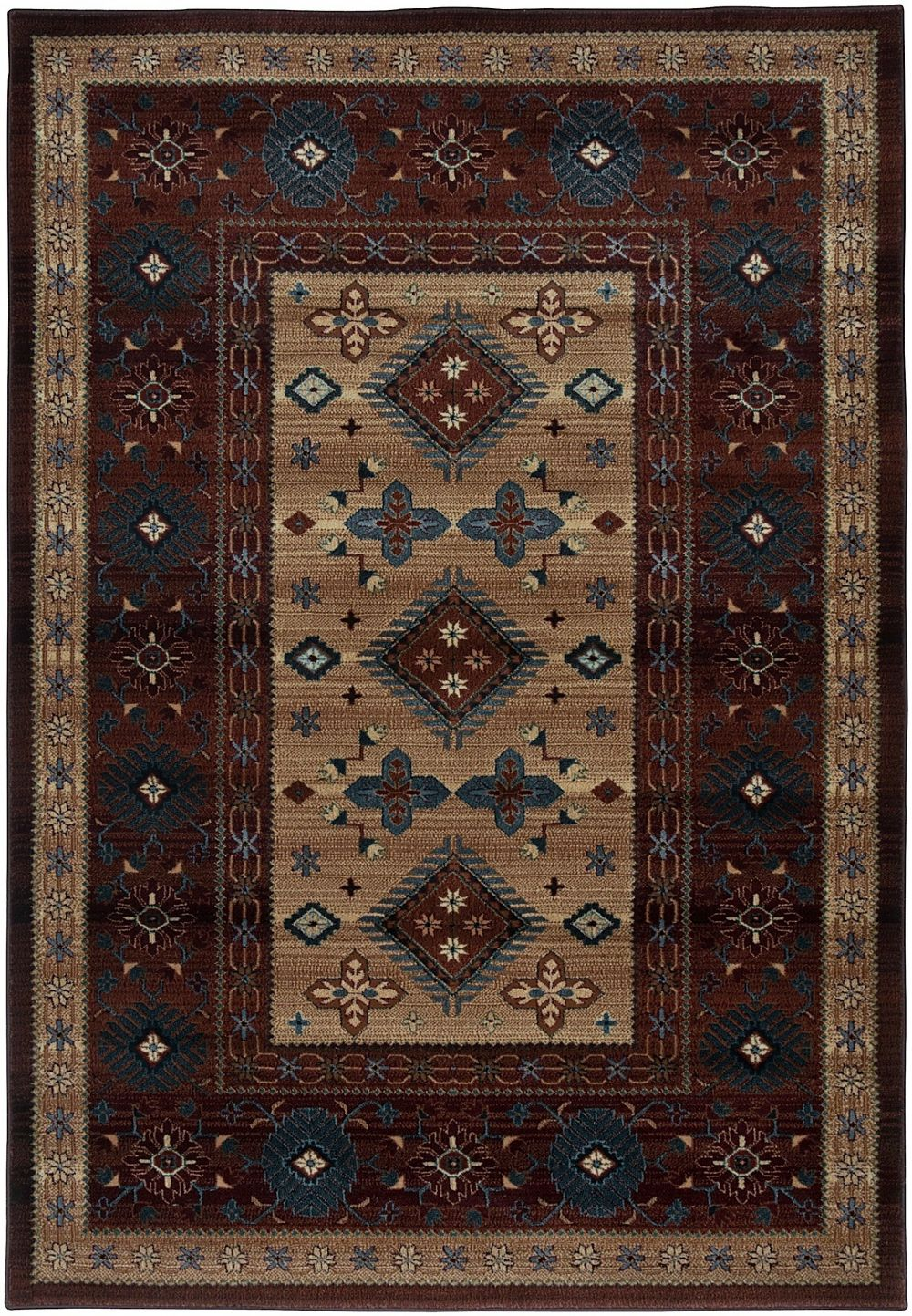 rizzy rugs bellevue southwestern/lodge area rug collection