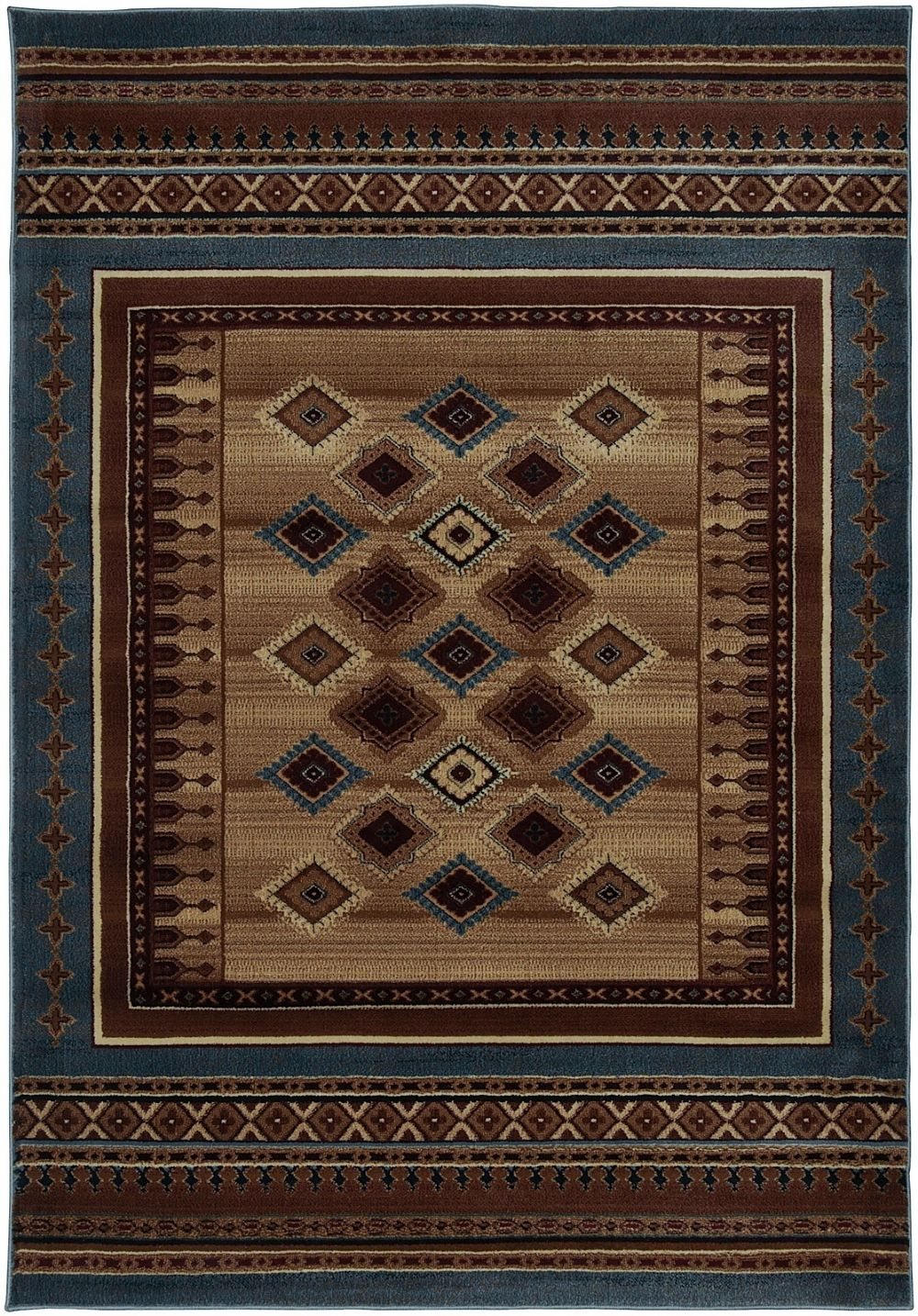 Rizzy Rugs Bellevue Southwestern Lodge Area Rug Collection